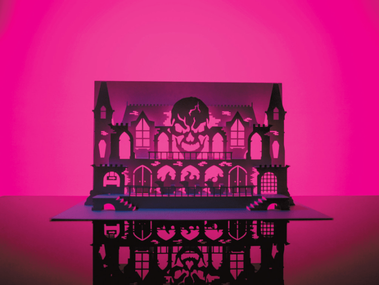 horrorgami :: moss and fog 3