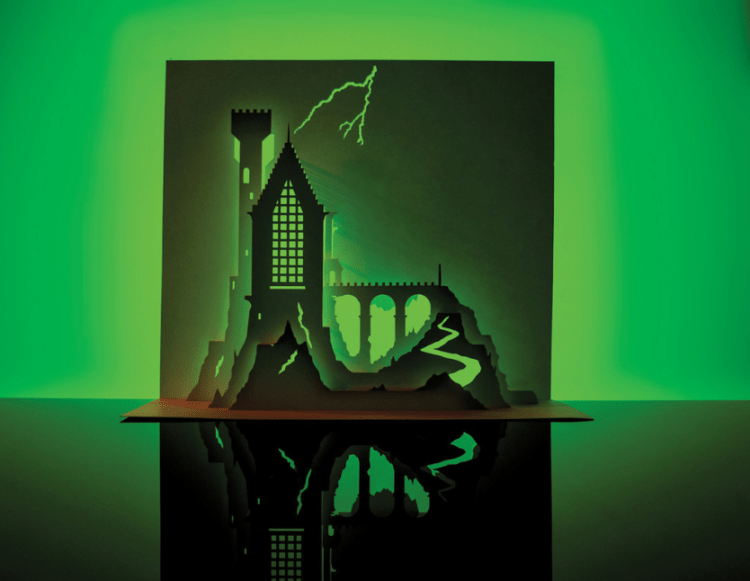 horrorgami :: moss and fog 4