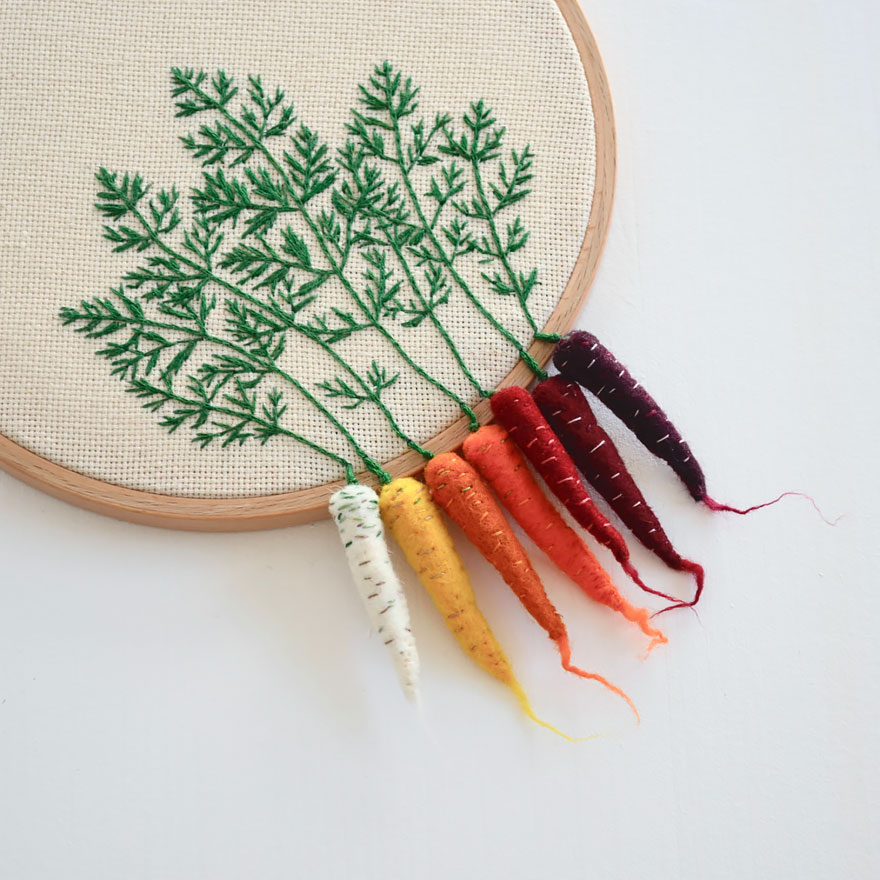 Amazing Embroidery Art 19 3 Moss And Fog