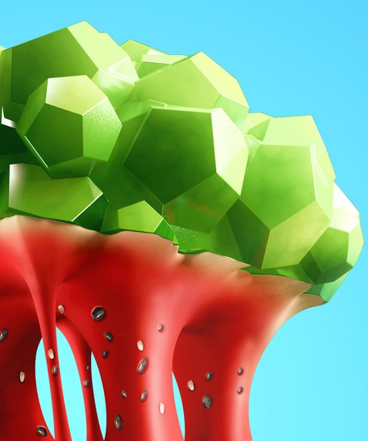 low-poly-fruits-gonzalo-ausejo-designboom-04