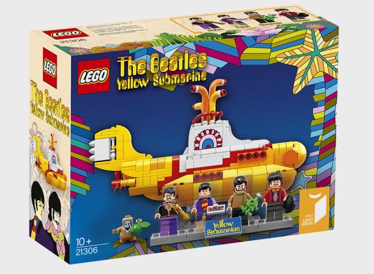 Beatles Yellow Submarine Goes Lego   Moss and Fog