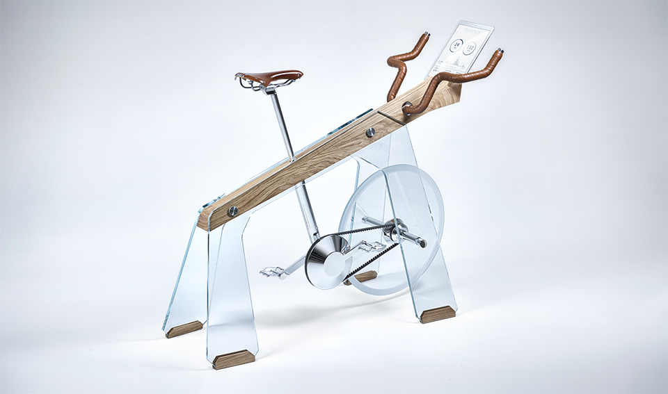 Adriano Design's Futuristic Stationary Bike
