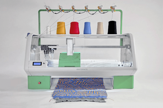 Kniterate, The Automatic Knitting Machine