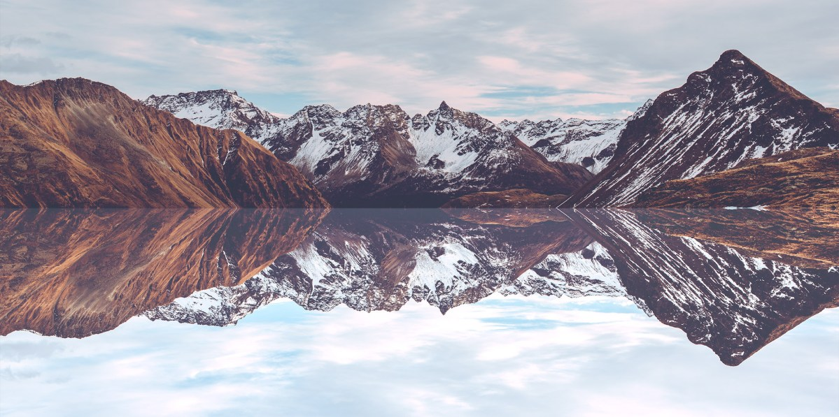 Perfectly Reflected Swiss Landscapes