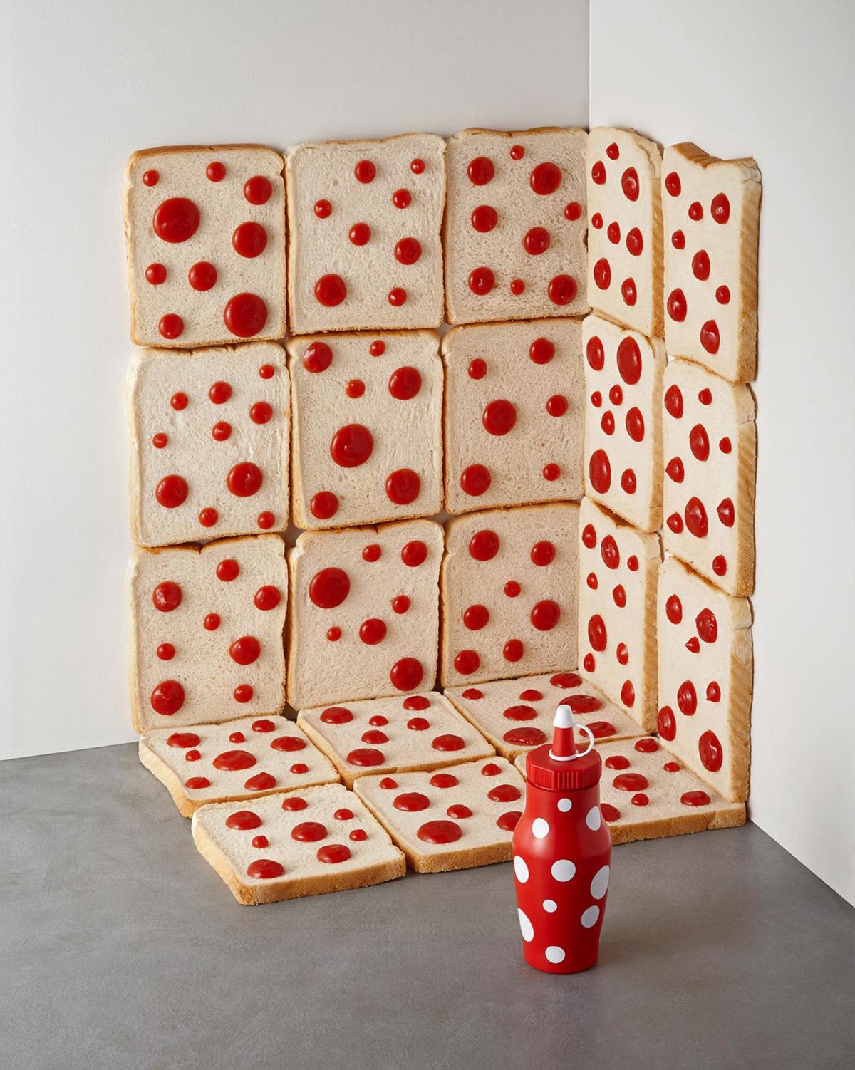 Yayoi Kusama's famous dots