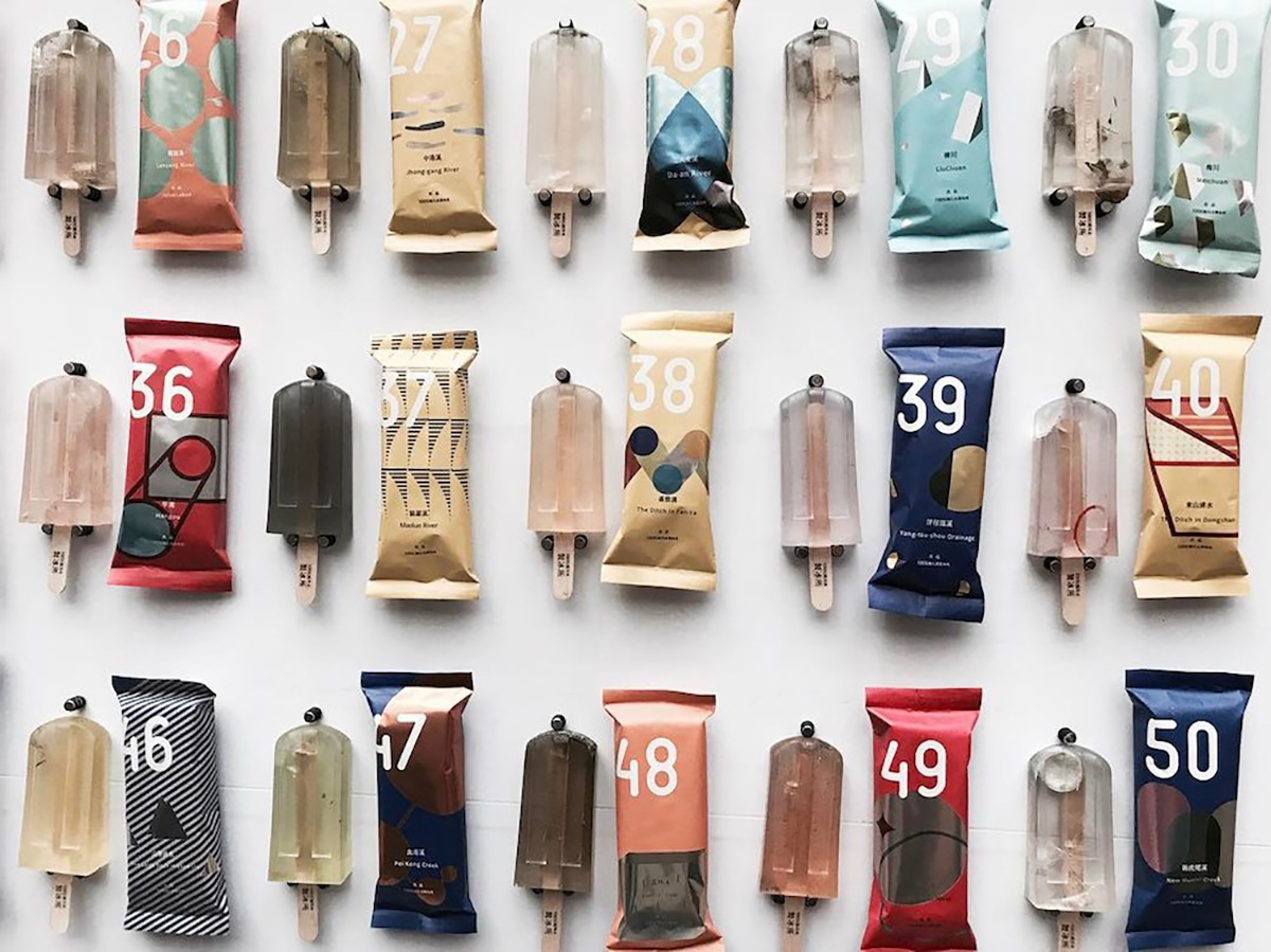 Polluted Popsicles Make a Statement