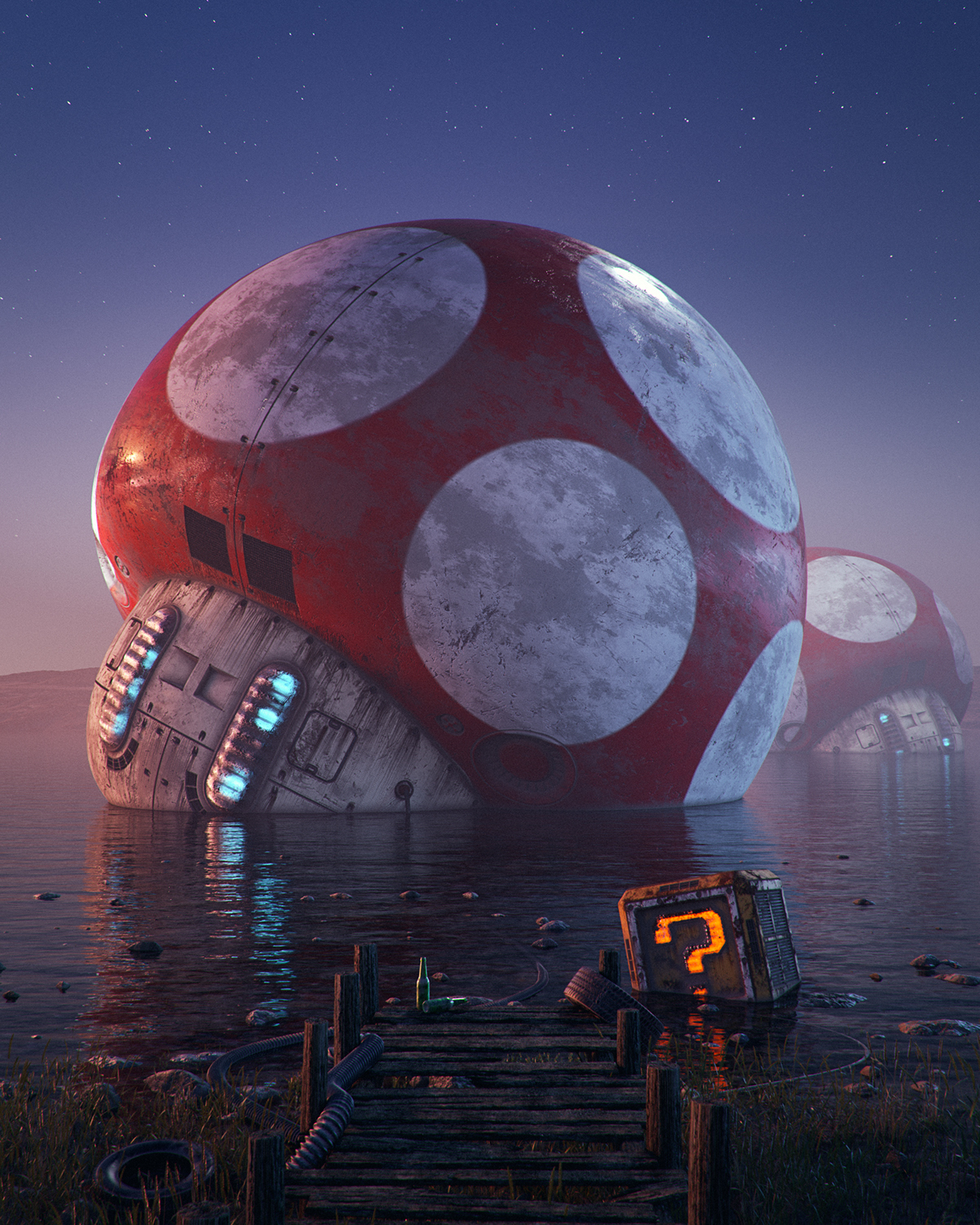 pop culture dystopia by Filip Hodas