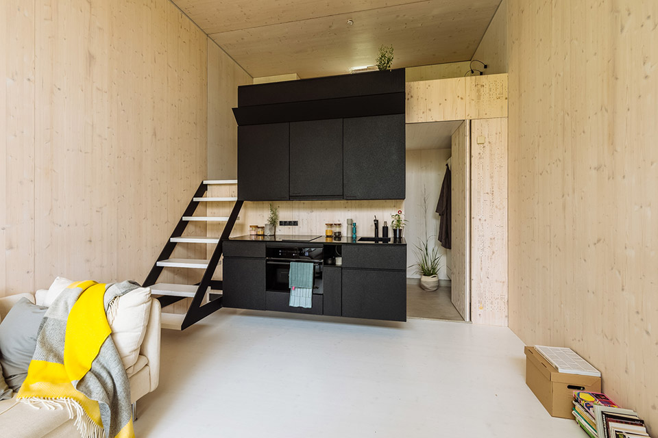 The Koda Moveable Home is a sleek tiny house that has a great modern design, and sets up in less than a day.