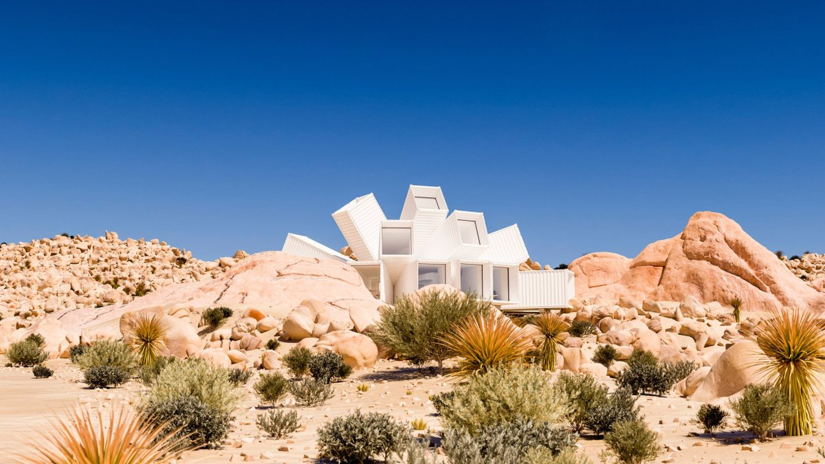 Wild Shipping Container Home in Joshua Tree