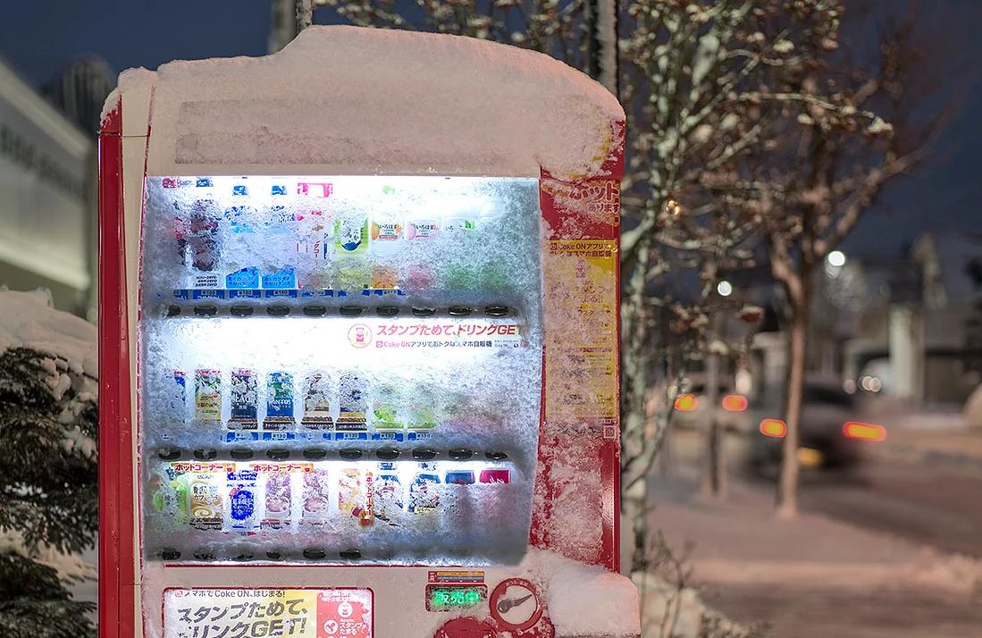 hokkaido vending machines moss and fog 5