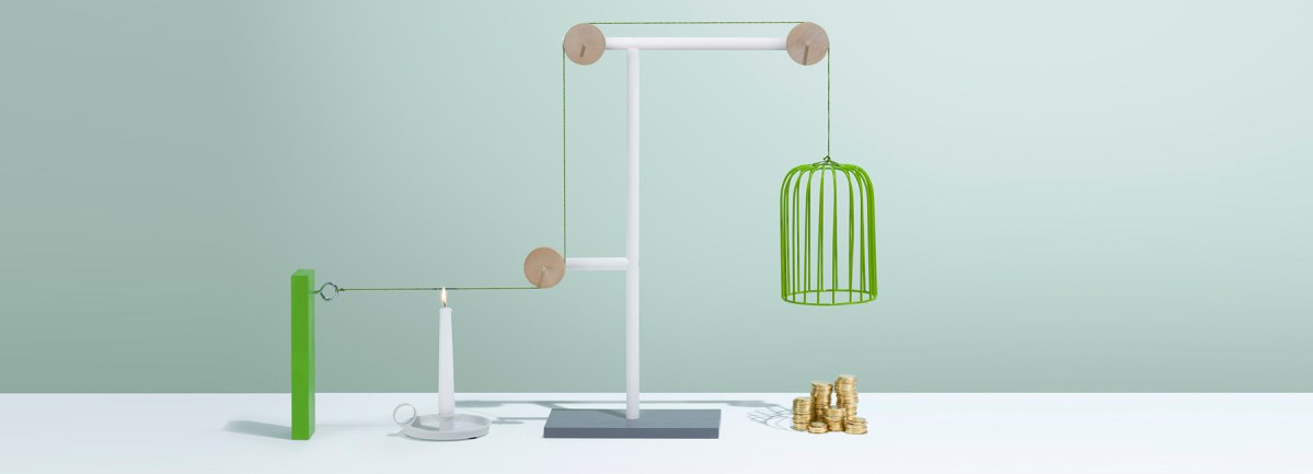 Minimalist Rube Goldberg Contraptions