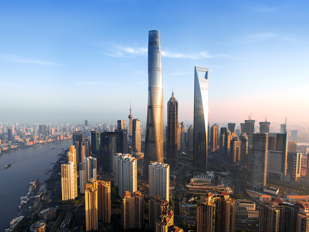 worlds tallest skyscrapers moss and fog shanghai tower 2