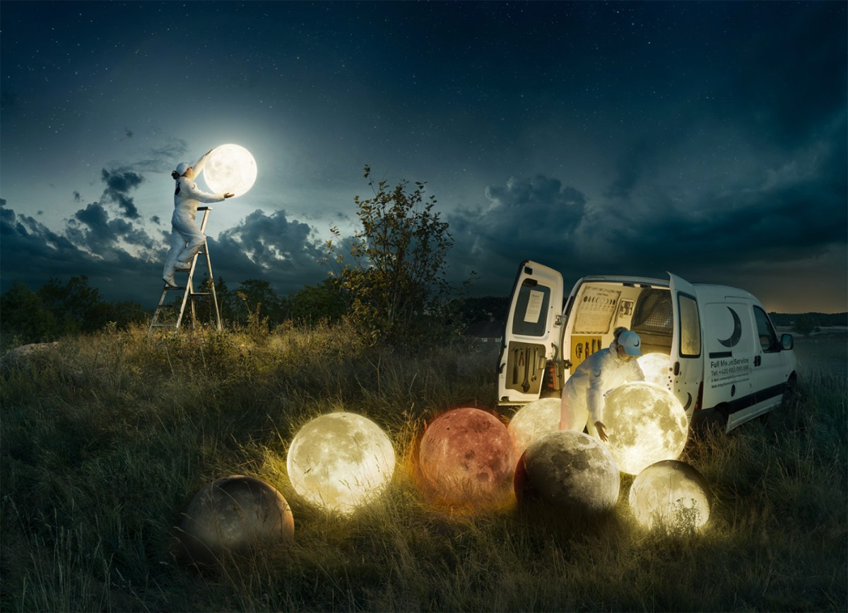 surrealism by Erik Johansson