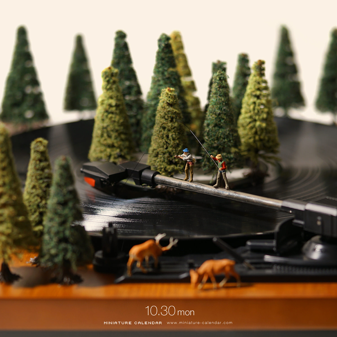 amazing miniatures // moss and fog