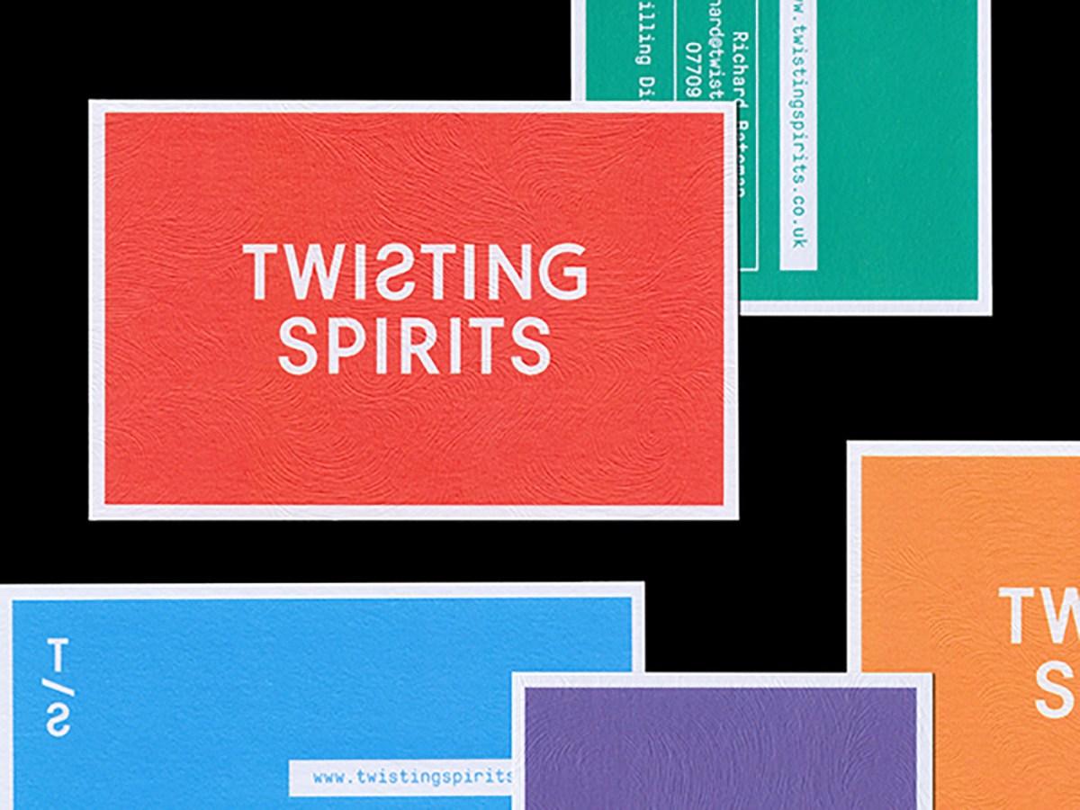 twisting spirits branding - moss and fog