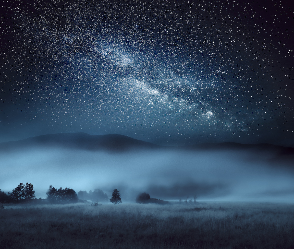 Astrophotography, Milky Way, Scotland