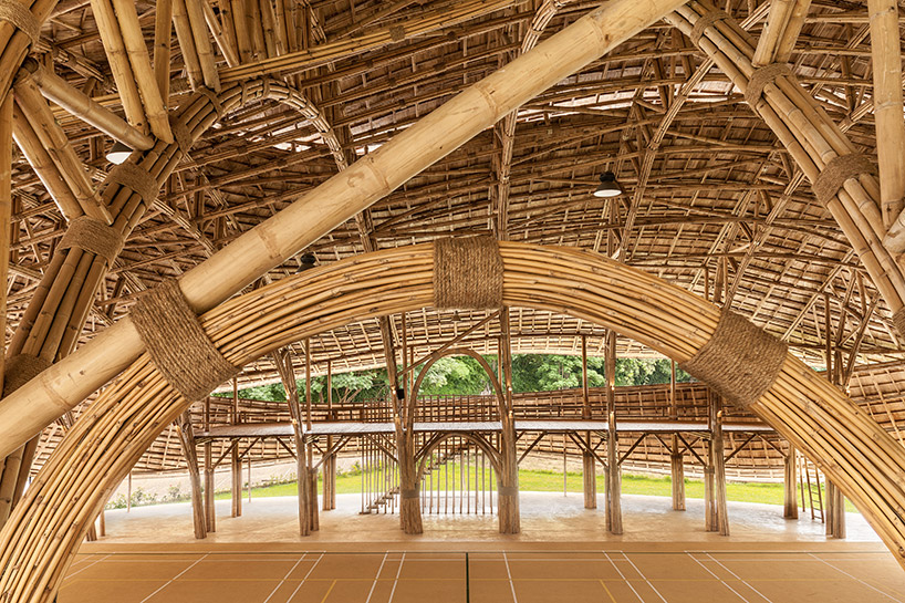 chiangmai-life-architects-bamboo-sports-hall-panyaden-international-school-thailand-designboom-04