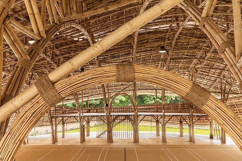 chiangmai-life-architects-bamboo-sports-hall-panyaden-international-school-thailand-designboom-04