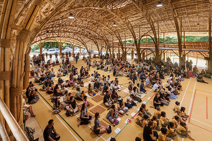chiangmai-life-architects-bamboo-sports-hall-panyaden-international-school-thailand-designboom-06