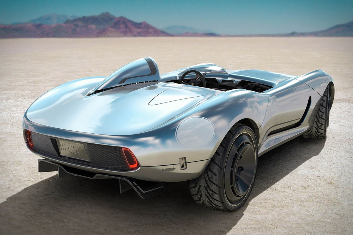 La Bandita 3D printed sports car