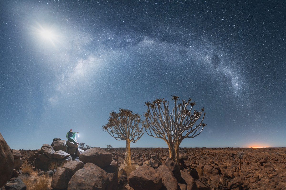 Namibian night sky
