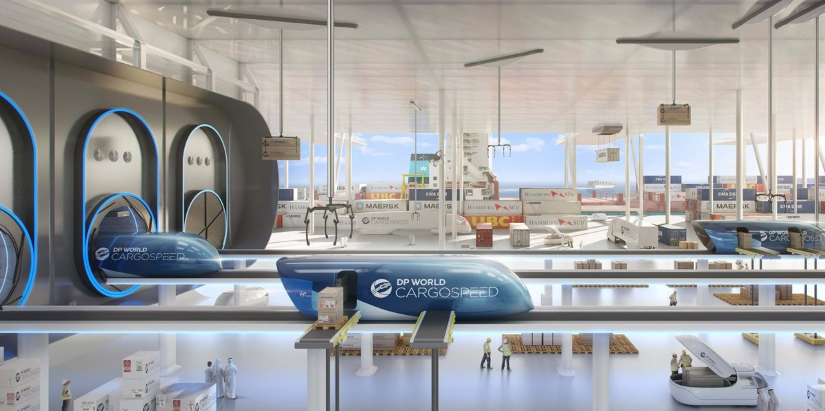 Cargospeed Brings the Hyperloop to Life