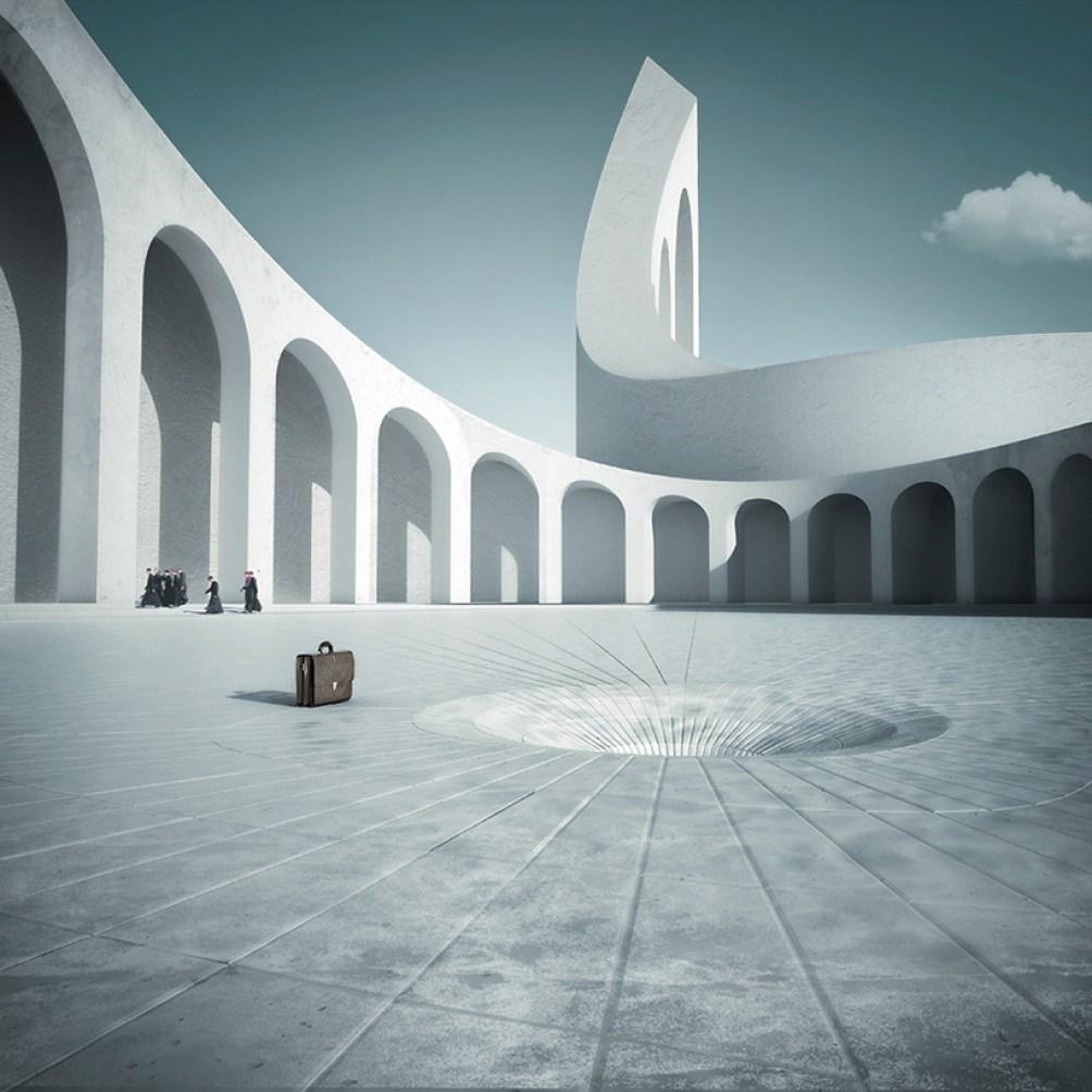 michele-durazzi-surreal-cityscapes-juxtapose-nature-architecture-designboom-11