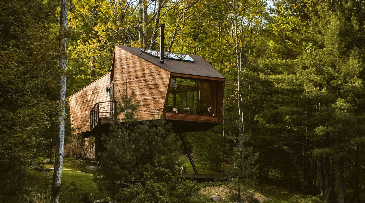 Willow Treehouse in the Catskill Mountains