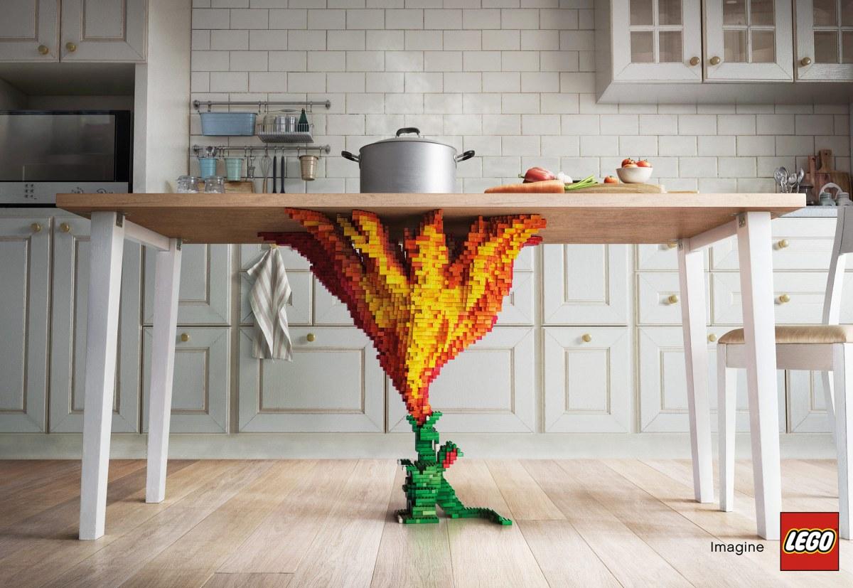 Creative LEGO Installations by Asawin Tejasakulsin