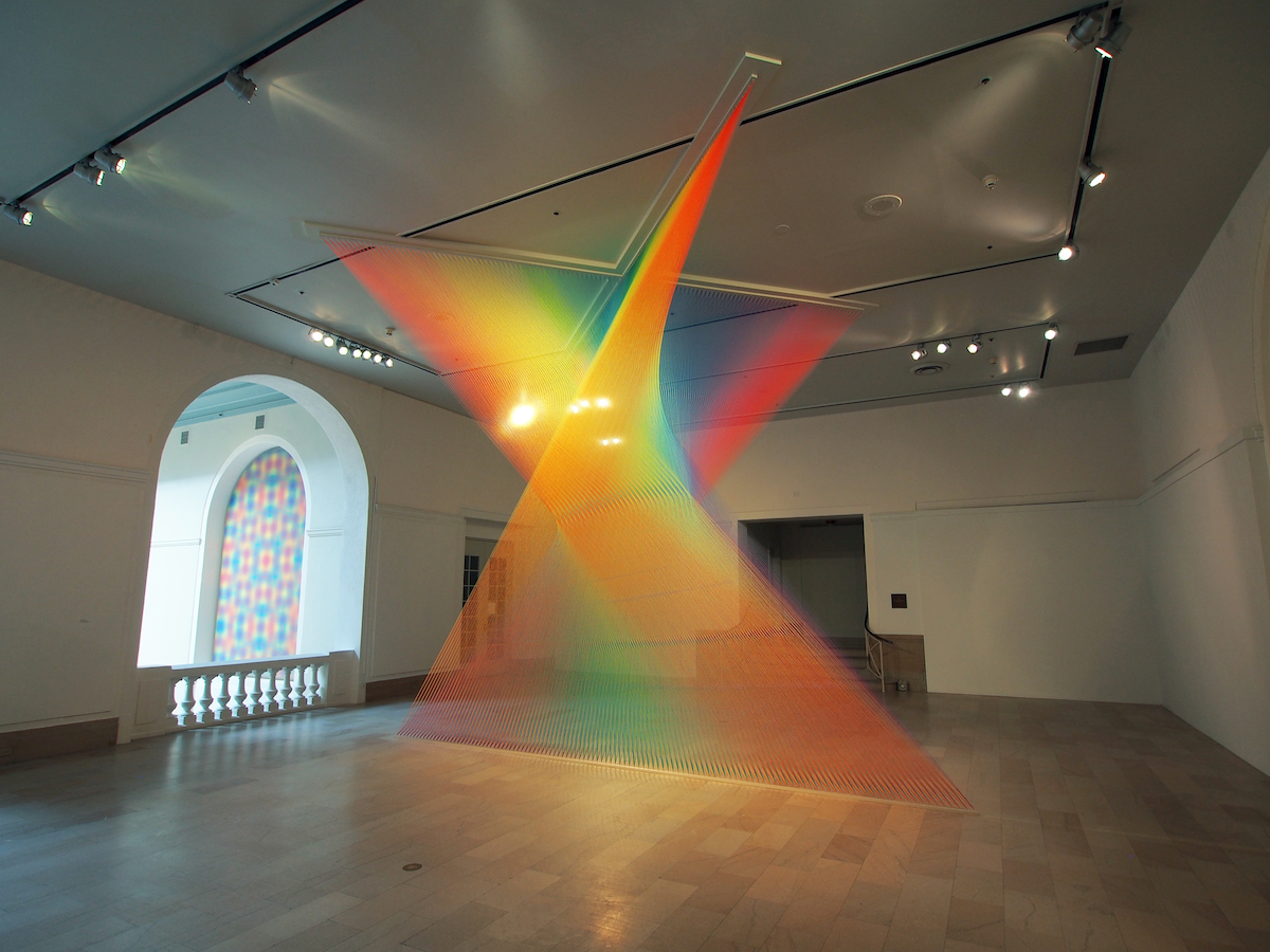Gabriel Dawe's Indoor Rainbows
