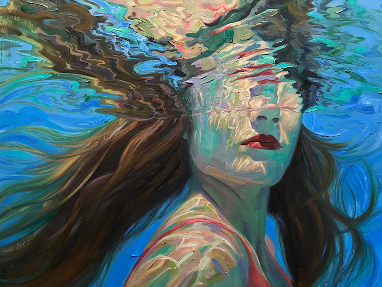 Beautiful Underwater Paintings by Isabel Emrich
