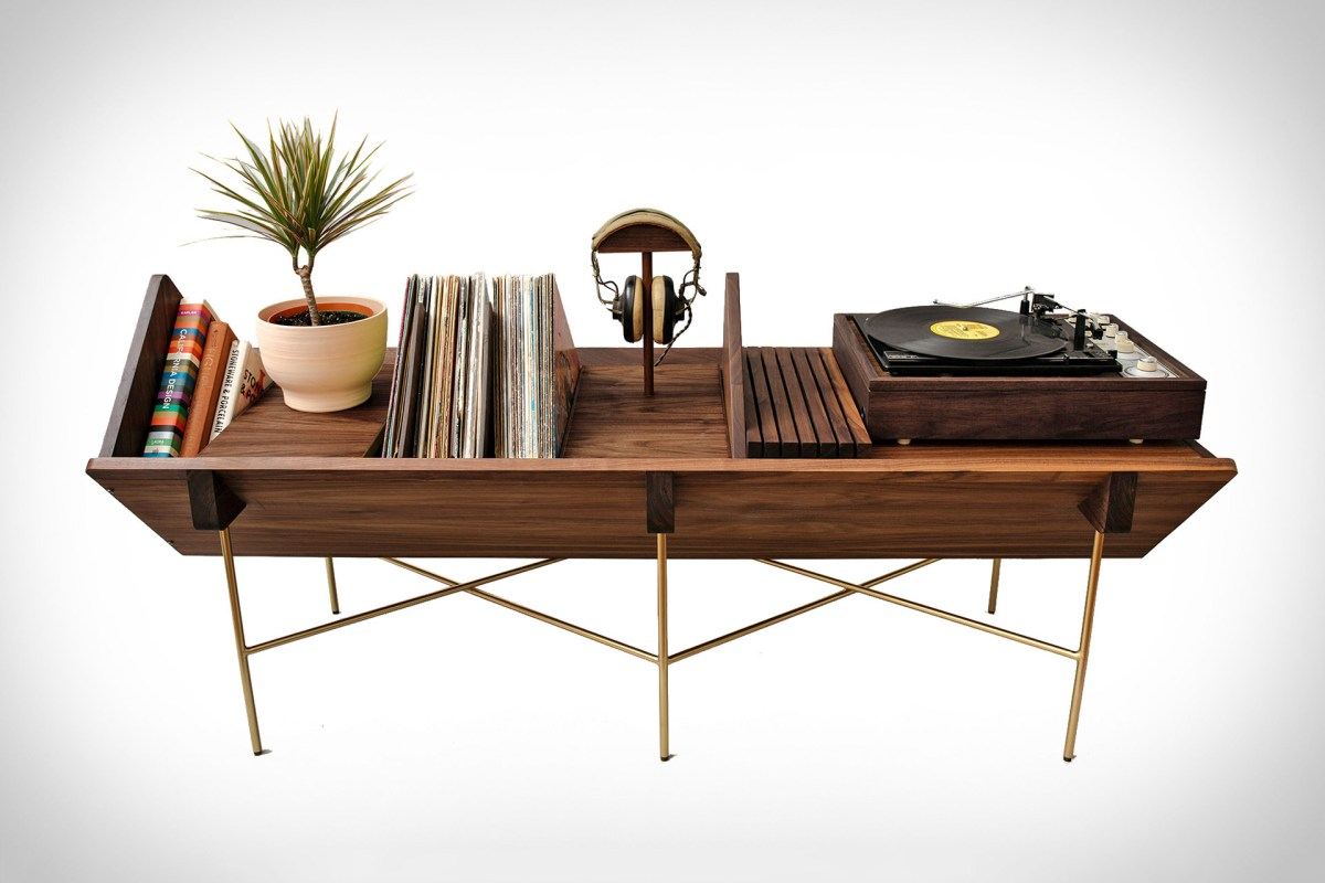 The Sitskie Open 45 Credenza Is An Altar To Your Vinyl