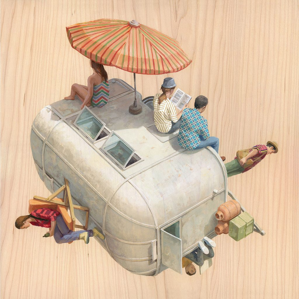 cintavidal16_CARAVAN-36x36cm-Oilonwoodpanel-ViewPoints-ThinkspaceGallery-sept2018-LR-1024x1024