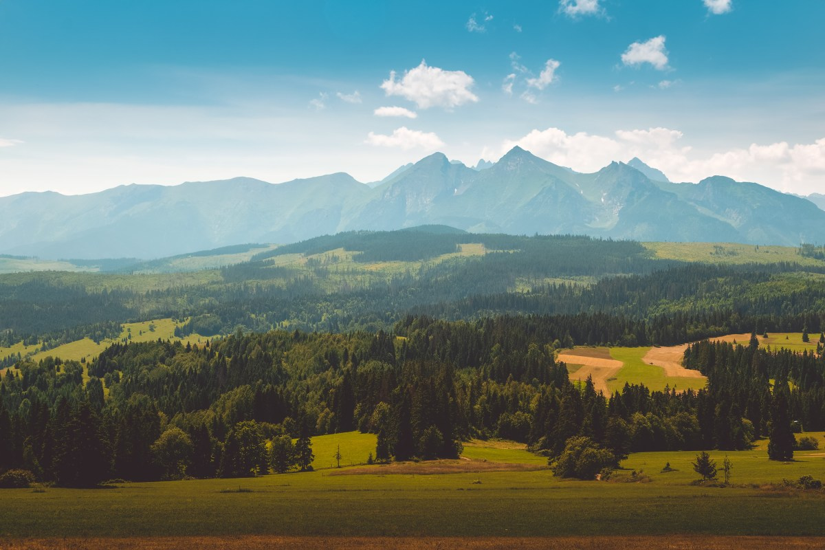 500px Photo ID: 160979173 - Panorama of Tatra Mountains in summer time