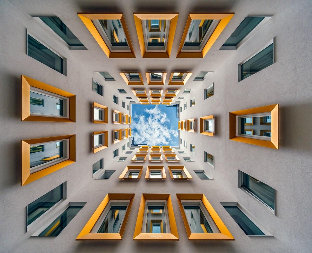 Peter Rajkai's Entrancing Perspective