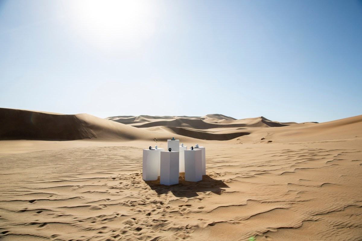 Installation Plays Toto's 'Africa' in the African Desert Forever