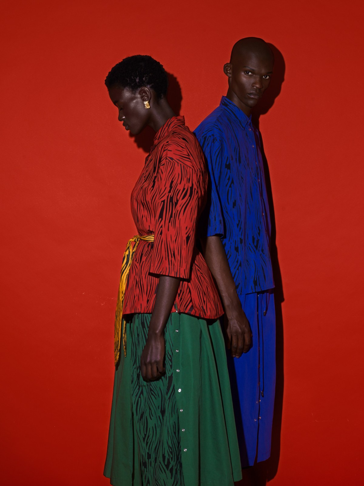 African Woman style photoshoot