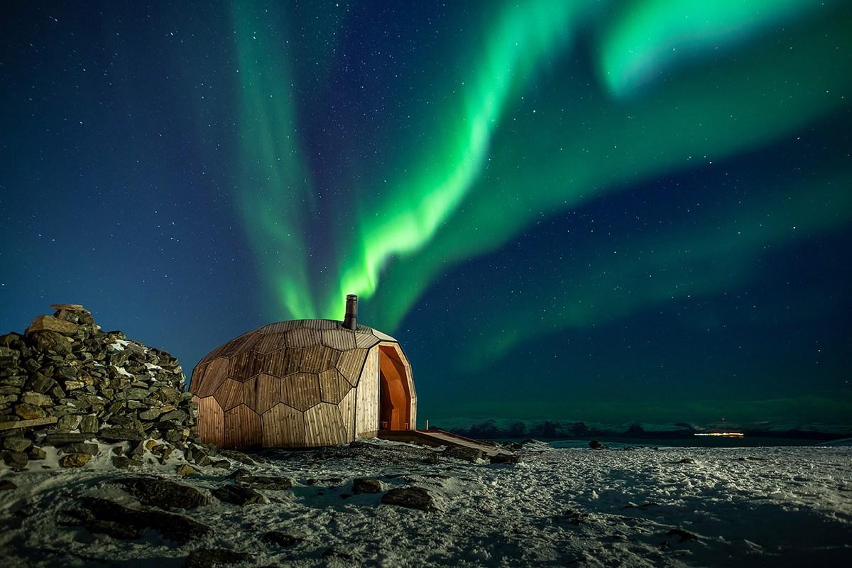 Stunning Hammerfest Hiking Cabins