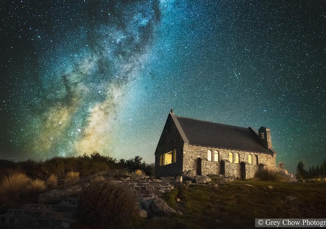 amazing starry sky photography