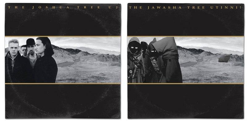 Star Wars album covers