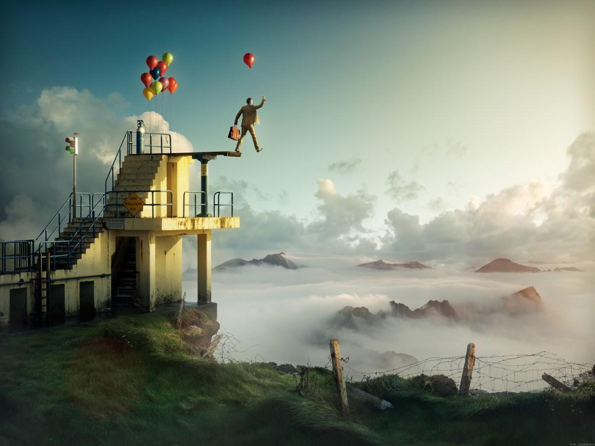 surrealist imagery from Erik Johansson