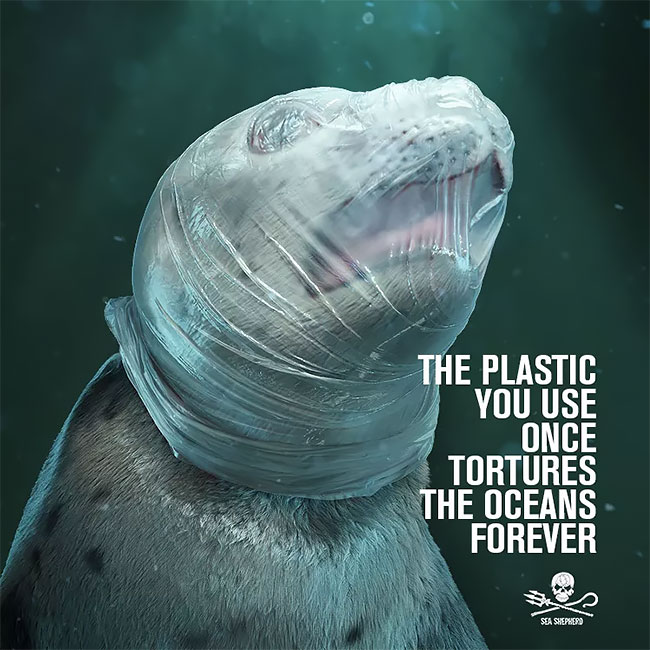 Shocking Campaign Aims to Wake People to Dangers of Plastic Waste