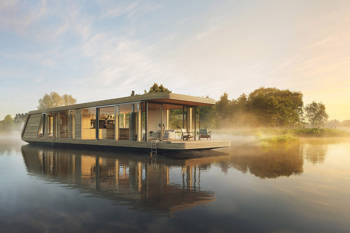 Naturecruiser Is An Elegant and Eco-friendly Riverboat