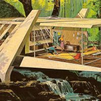 Retro-Futuristic Home Designs by Charles Schridde