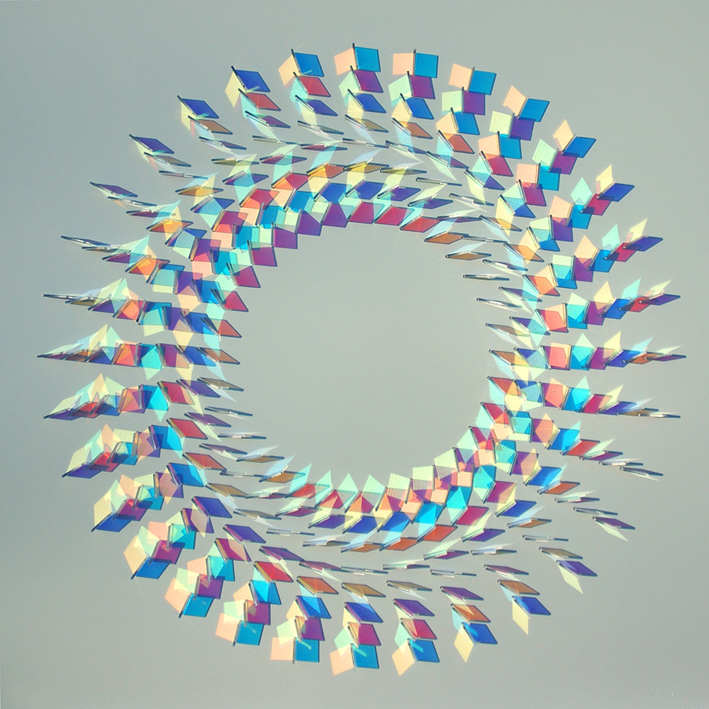 Beautiful Dichroic Glass Sculptures by Chris Wood