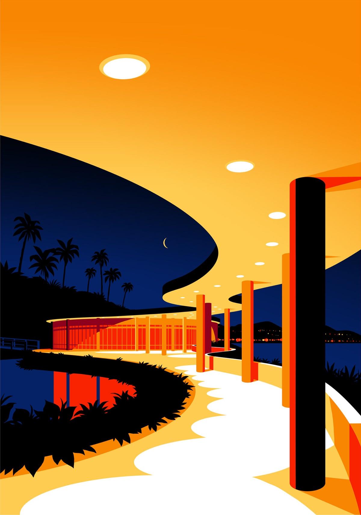 oscar-niemeyer-architecture-illustrations-levente-szabo-5