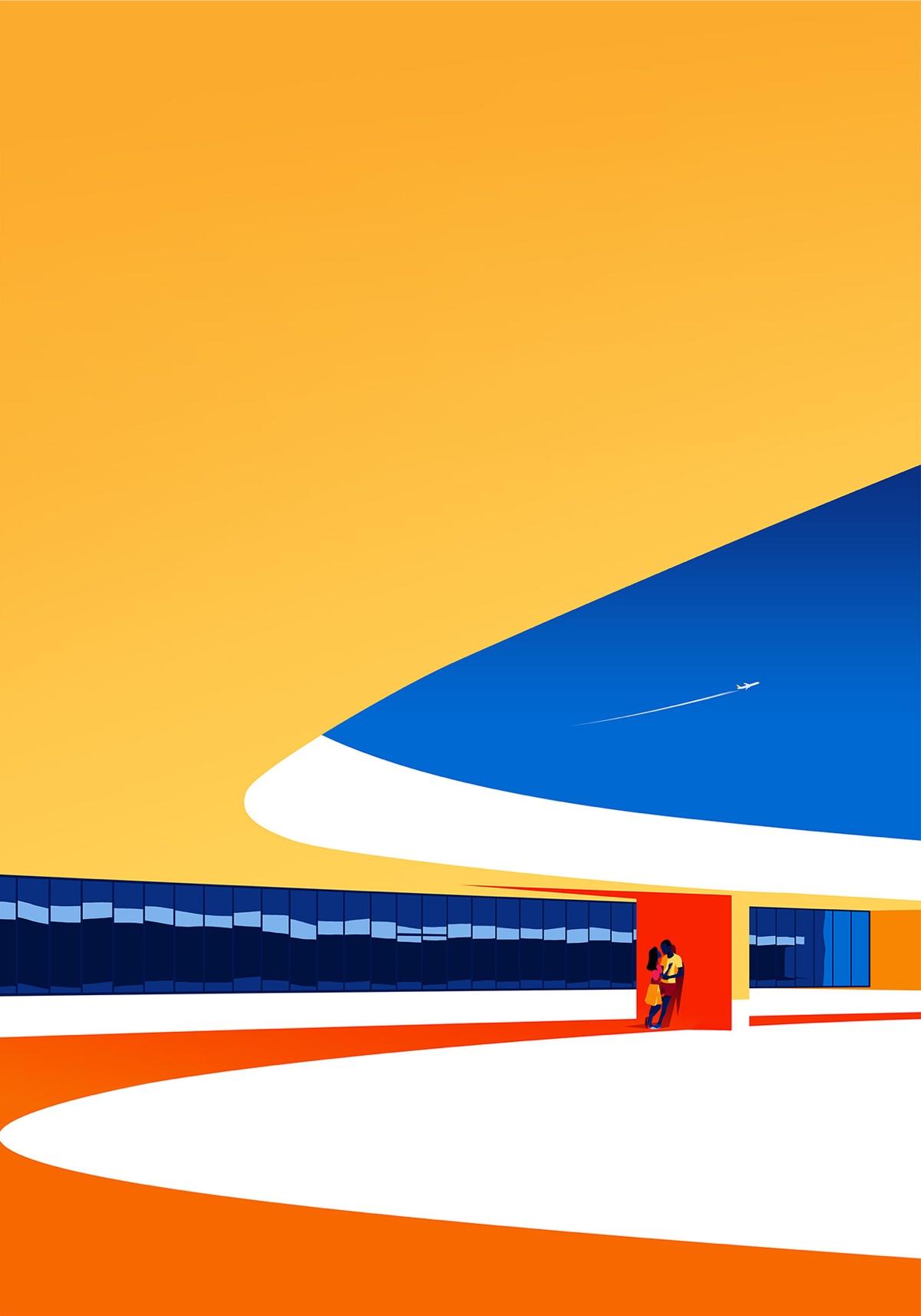 oscar-niemeyer-architecture-illustrations-levente-szabo-7