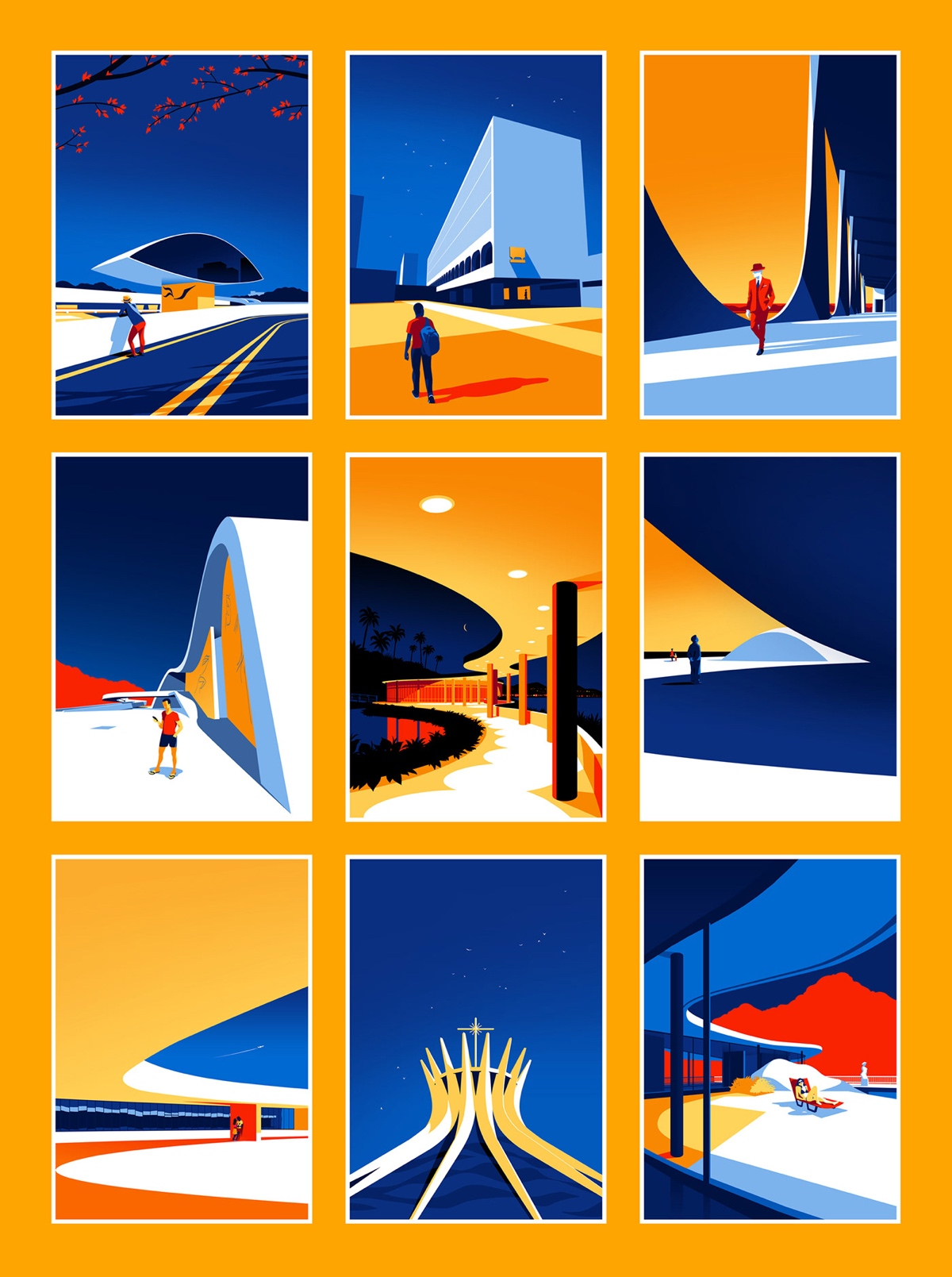 oscar-niemeyer-architecture-illustrations-levente-szabo-8