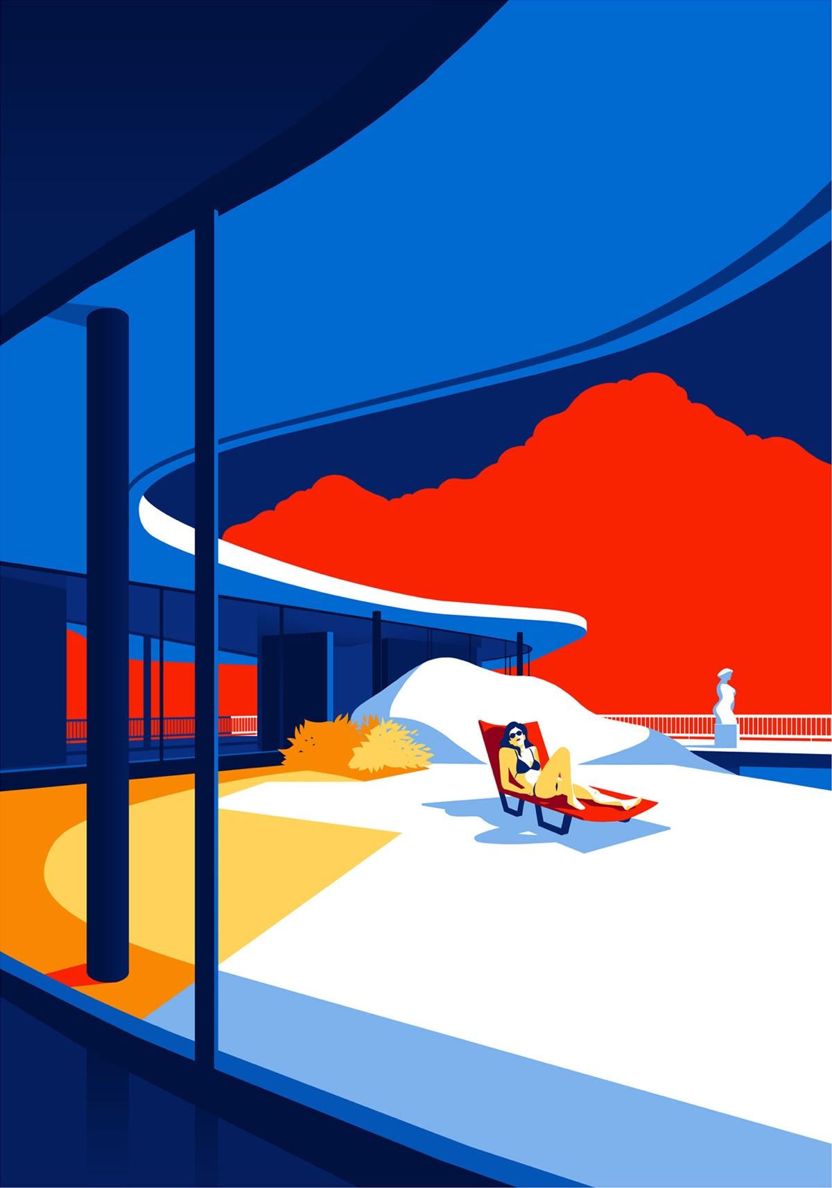 oscar-niemeyer-architecture-illustrations-levente-szabo-9