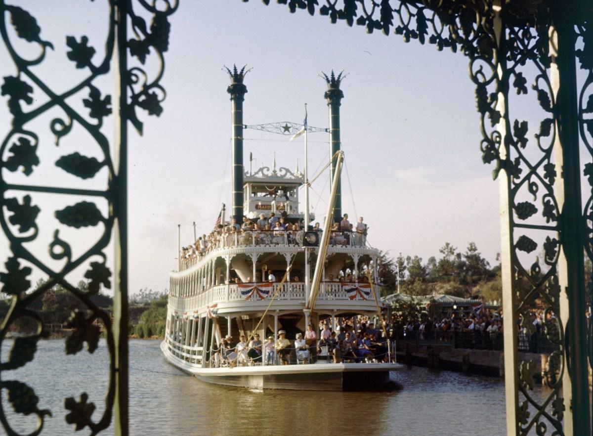Riverboat At Disneyland